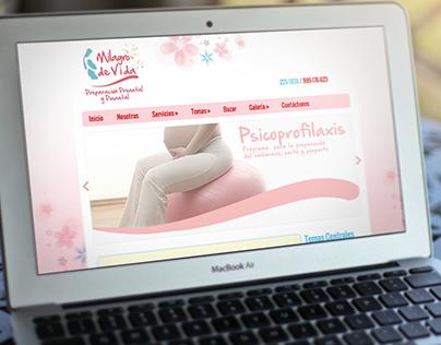 Milagro de Vida - Website