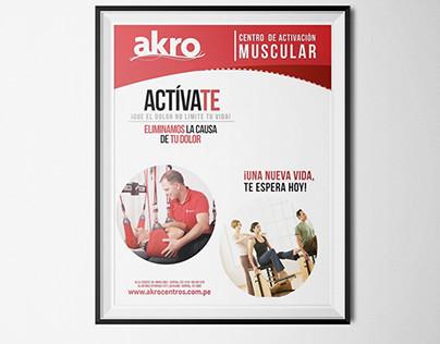 Akro – Restyling 2014