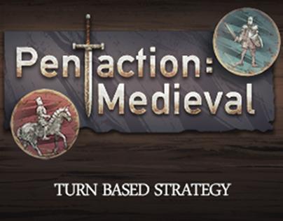 """Artwork for """"Pentaction: Medieval"""""""