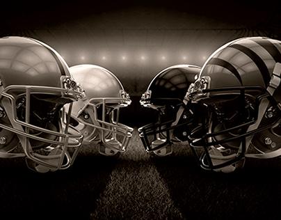 Rawlings: NRG Football and S100 Baseball Helmets