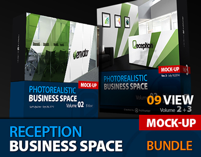 Mock-up Business Space Bundle Vol.2-3