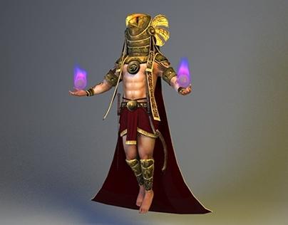 Horus - Elemental Animation