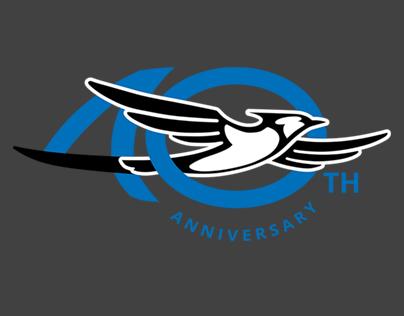 Jayco 40th Anniversary Logo