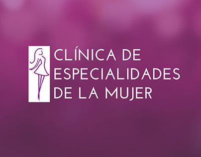 Clínica de Especialidades de la Mujer, branding.