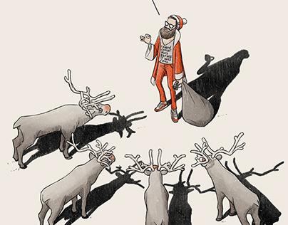 Avantgarde Santa