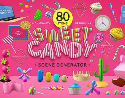 SweetCandy | Premium scene generator
