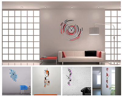 Wall2time - Customizable clocks