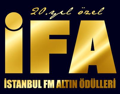 İstanbul FM İFA 20. Yıl Logo