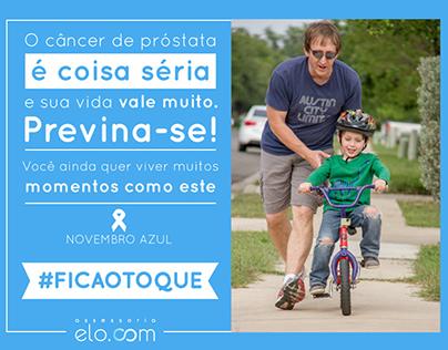 Novembro azul Elo.com/Elo.com blue november