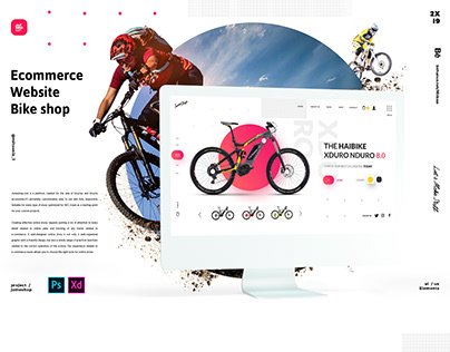 JOME SHOP // Ecommerce Website Bike shop
