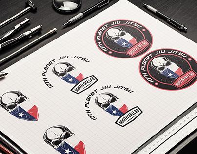 10th Planet Jiu Jitsu North Dallas Branding