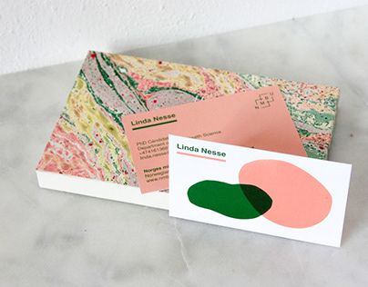 Graphic design / Business cards for Linda