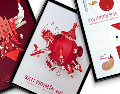 San Fermín Poster Compilation