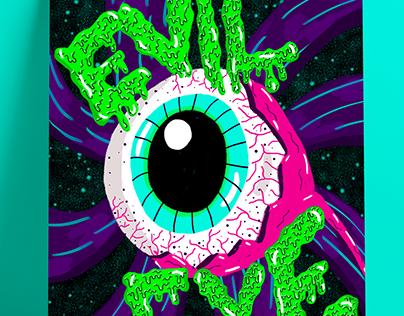 EVIL EYE - FRANZ FERDINAND (póster)
