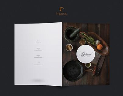 Elegant Food Menu 18