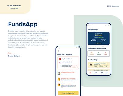 FundsApp - UX/UI Design Case Study