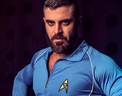 STAR TREK - Dr. A. Cortinovis - Science Team Tracksuit