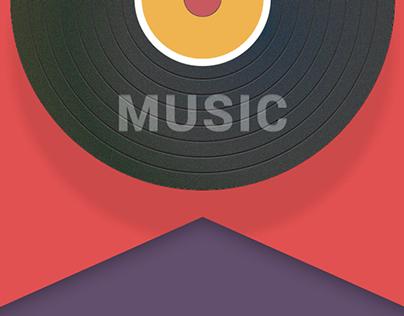 Music App transitions!