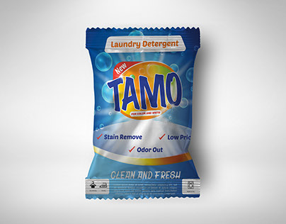 Laundry Detergent Packaging TAMO