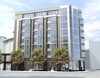 1700 Market Street, San Francisco - Option 2