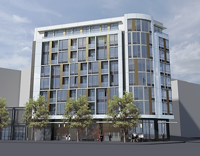 1700 Market Street, San Francisco - Option 1