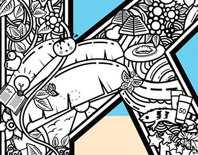 Klau Line Art