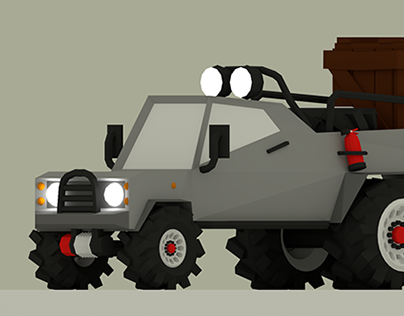Off-road Pickup Truck
