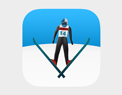 Ski Jump Mobile Game