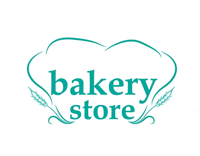 An unused sample for a bakery store