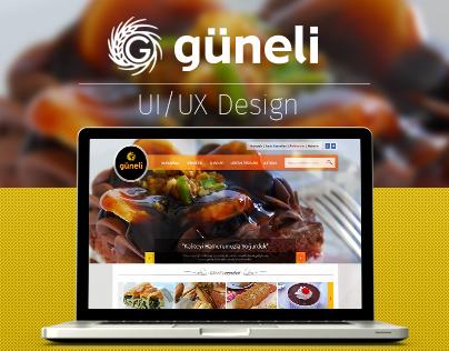 Güneli Bread | Web UI/UX Design