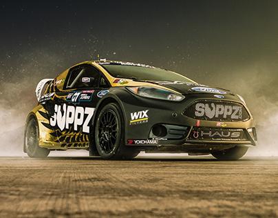 SH Rallycross // Suppz.com GRC Ford Fiesta ST