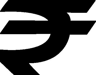 Freebies: Indian Currency Symbol Rupee