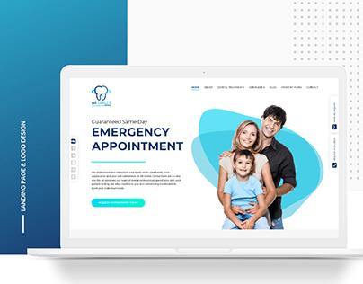 All Smiles Dental - Logo & Landing Page