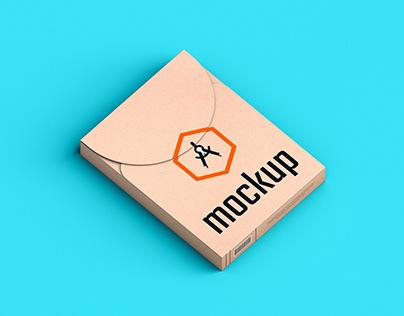 Free Craft Modern Product Box Mockup