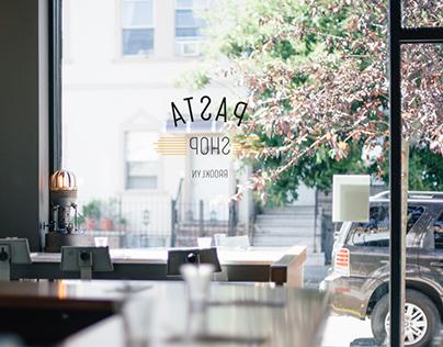 Pasta Shop Brooklyn - Branding