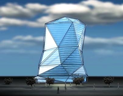 Architecture motion presentation _Diamond Tower Doha