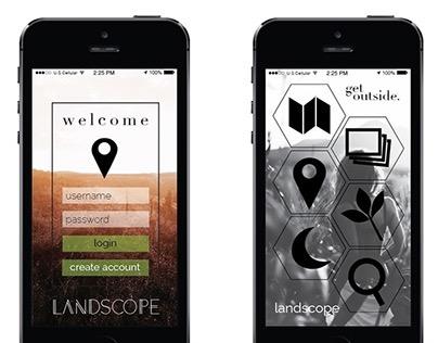 Landscope Application Design
