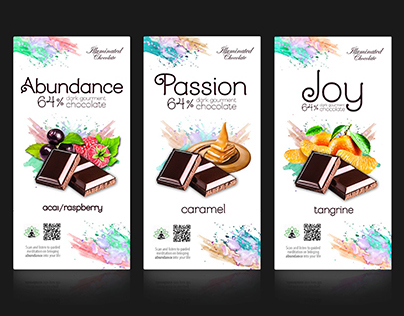 Design for chocolate packaging