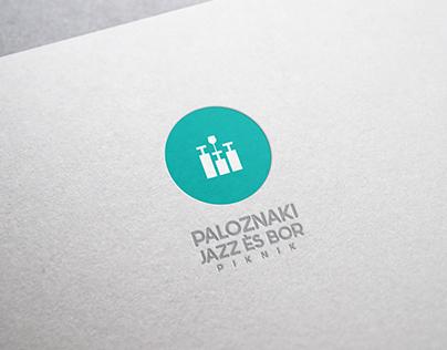 Paloznaki Jazz és Bór Piknik LOGO & BRANDING