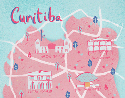 Illustrated Maps | Brazil