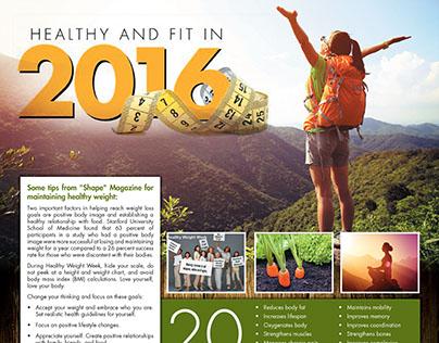 Winter newspaper ads 2015/2016