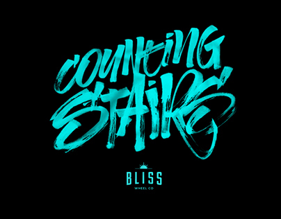 Bliss Wheel Co - Brush T'shirts