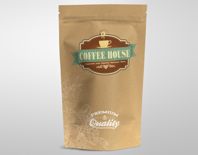 Coffee Vacuum Package Mock up