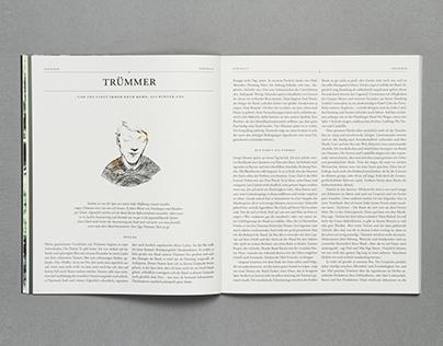 »Das Wetter« Magazine for Music and Literatur Issue 1
