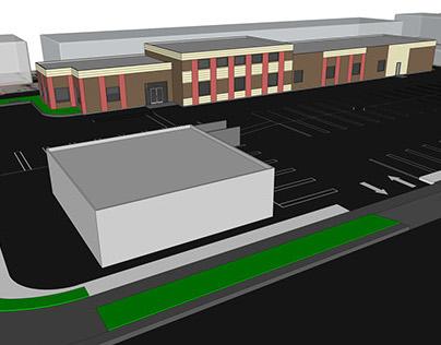 Commercial Building Rendering