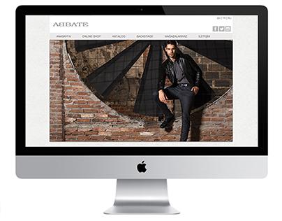 Abbate Giyim Web Sitesi Yazılımı