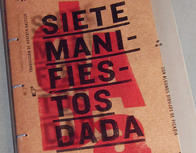 Siete manifiestos dadá | Libro