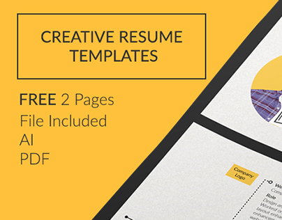 FREE - Creative Resume Templates