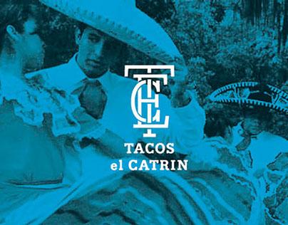Tacos el Catrin Identity