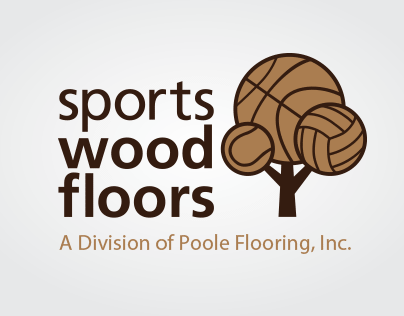 SPORTS Wood Floors (Logo Design)